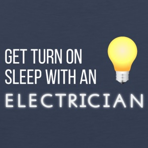 Electricians: Get turn on sleep with at Electrician - Men's Premium Tank Top