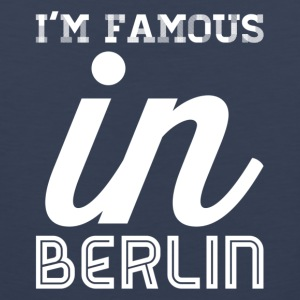 im famous in berlin white - Men's Premium Tank Top