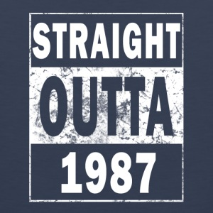 1987 - Straight outta - Men's Premium Tank Top
