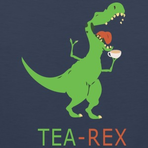 TEA REX - Men's Premium Tank Top