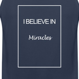 I believe in miracles - Mannen Premium tank top