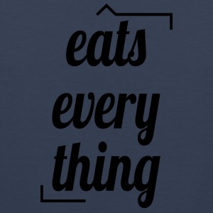 Eats everything - Männer Premium Tank Top