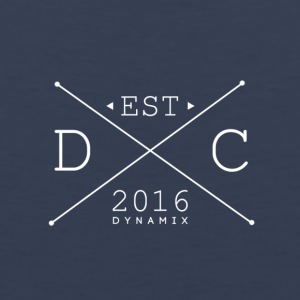 Dynamix_Clothing_Logo_White_-_600_dpi - Men's Premium Tank Top