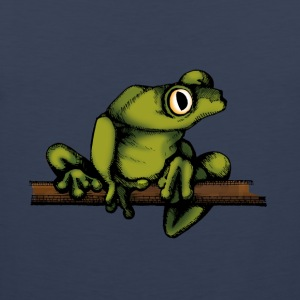frog-shirt - Men's Premium Tank Top