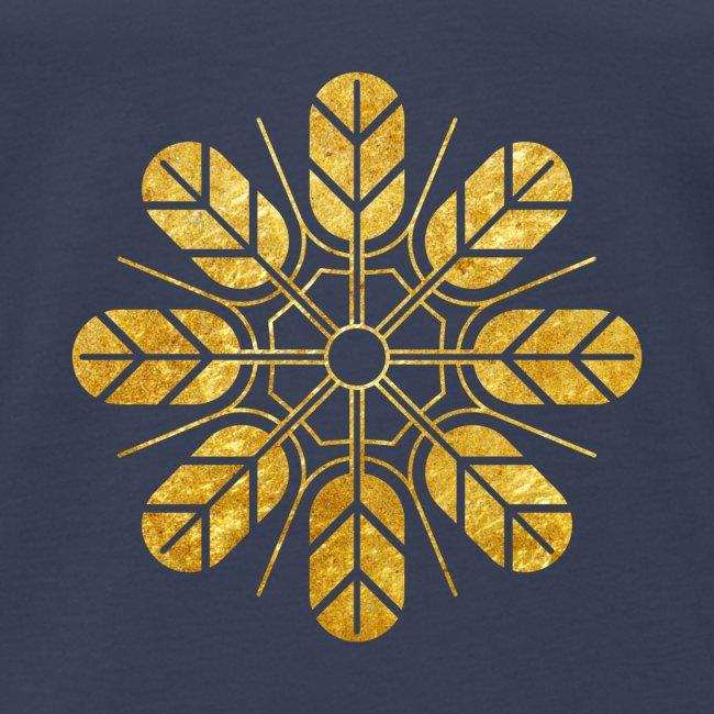 Inoue clan kamon in gold