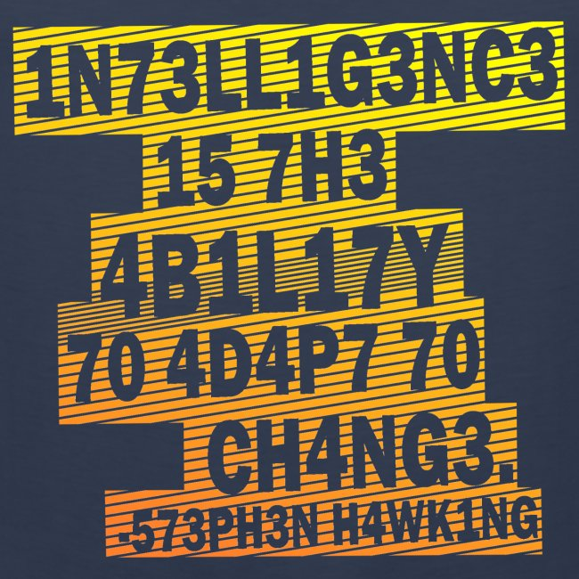 Stephen Hawking - Intelligence