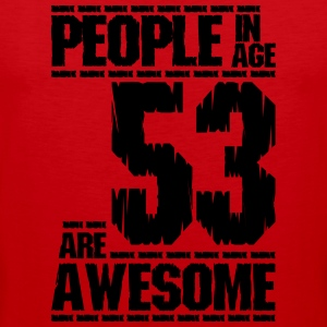 MENNESKER I ALLE 53 ER AWESOME - Premium singlet for menn