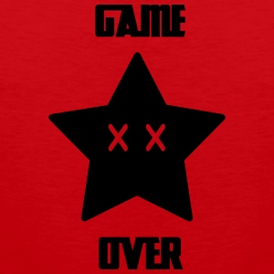Game Over - Mario Star - Herre Premium tanktop