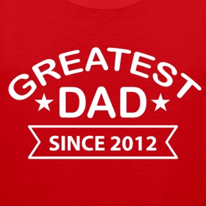 Greatest Dad siden - Premium singlet for menn