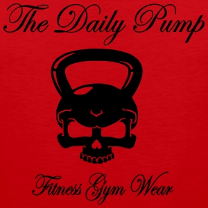 The Daily Pump Kettlebell - Männer Premium Tank Top