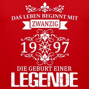 ++ 1997 - The birth of a legend ++ - Men's Premium Tank Top