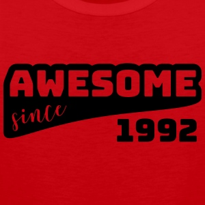 Awesome since 1992 / Birthday-Shirt - Men's Premium Tank Top