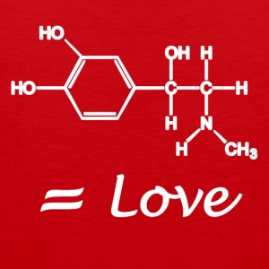MOLECULE = Love - Men's Premium Tank Top