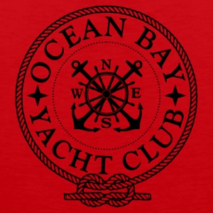 Yacht Club Logo - Premium singlet for menn