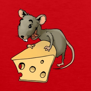 Fiese mouse rodent mouse vermin rodent cheese - Men's Premium Tank Top