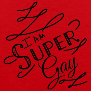 I am super gay - Débardeur Premium Homme