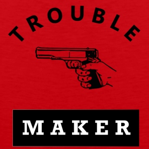 Troublemaker - Men's Premium Tank Top
