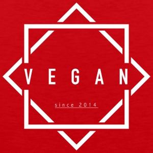 VEGAN sinds 2014 - Mannen Premium tank top