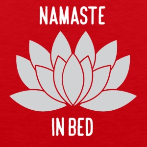 NAMASTE IN BED - Men's Premium Tank Top