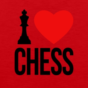 I LOVE CHESS - Men's Premium Tank Top