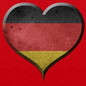 I LOVE GERMANY - GERMANY - Men's Premium Tank Top