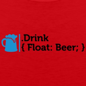 CSS Jokes - Drink Beer! - Débardeur Premium Homme