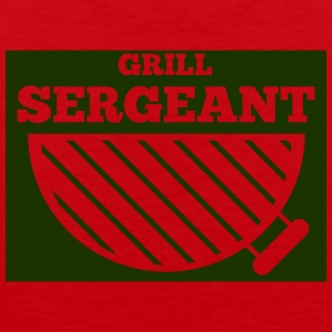 Military / Soldier: Grill Sergeant - Premium singlet for menn