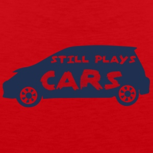 Mechanic: Still Plays Cars - Men's Premium Tank Top