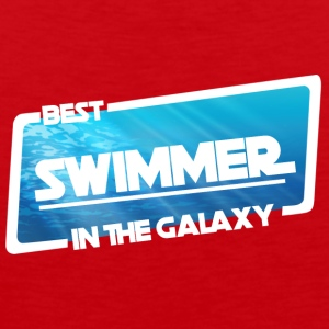 Swim / Float: Beste Zwemmer in de Melkweg - Mannen Premium tank top