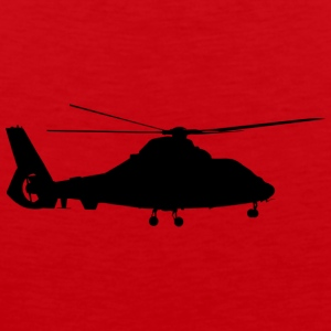 Aircraft, helicopter - Men's Premium Tank Top