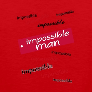 Impossible man - Men's Premium Tank Top