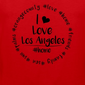 I love Los Angeles - Orange County - Männer Premium Tank Top