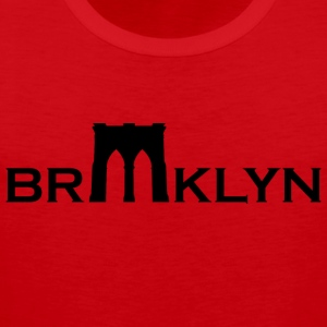 Brooklyn bridge - Mannen Premium tank top