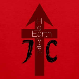 Heaven / Earth - Men's Premium Tank Top