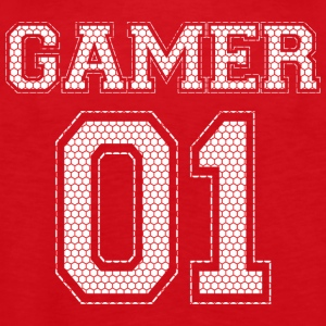GAMER 01 - Red Edition - Premiumtanktopp herr