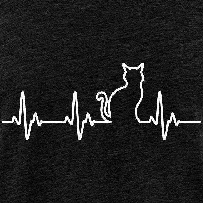 Vorschau: Ein Herz für Katzen - Männer Premium Tank Top
