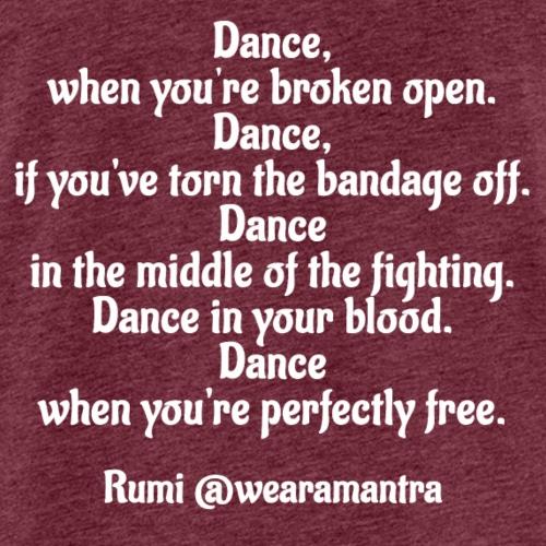 Rumi Dance - Canotta premium da uomo