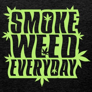 SMOKE_WEED_EVERYDAY - Premium singlet for menn