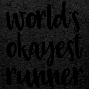 World's okayest runner - Men's Premium Tank Top