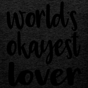 World´s okayest lover - Männer Premium Tank Top