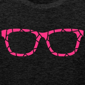 pink glasses - Men's Premium Tank Top