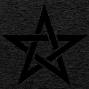 Pentagram, pentacle, magic, symbol, witchcraft, - Men's Premium Tank Top