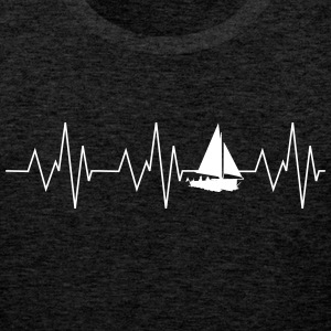 Heartbeat sailing - Men's Premium Tank Top