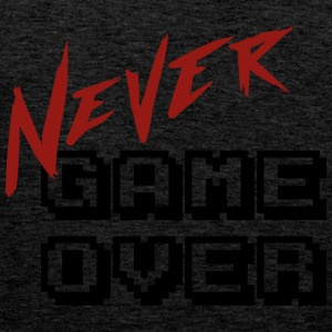 Big_Never_game_Over - Mannen Premium tank top