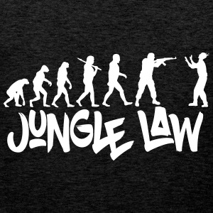 JUNGLE_LAW - Premium singlet for menn