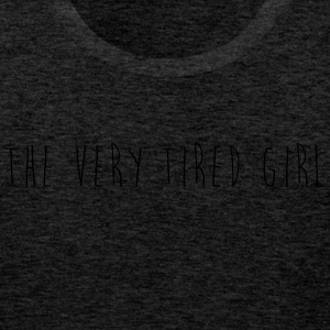 the very tired girl - Men's Premium Tank Top