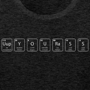 Up your ass nerdy shirt - Men's Premium Tank Top