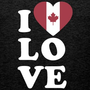 I love Canada - Men's Premium Tank Top