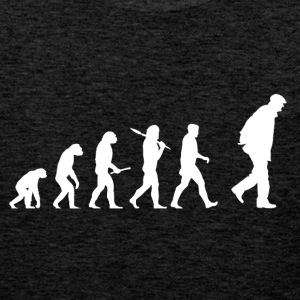 Evolution bestefar! - Premium singlet for menn