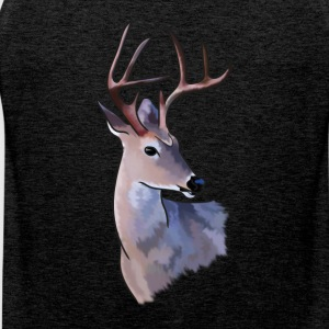 Painted Deer - Mannen Premium tank top